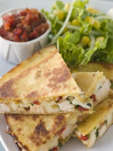 Rotisserie Chicken Quesadillas