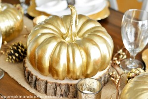 DIY-Metallic-Gold-Pumpkin-