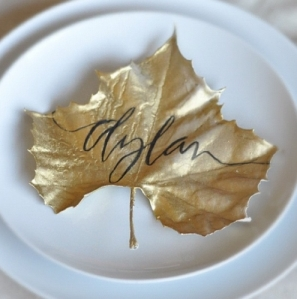 Gold-Leafed-Place-Setting