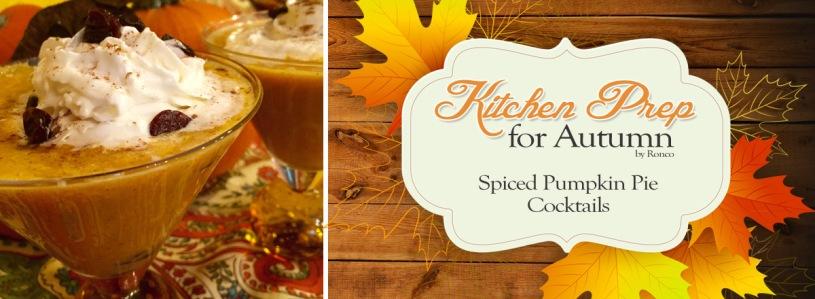 Spiced Pumpkin Pie Cocktails