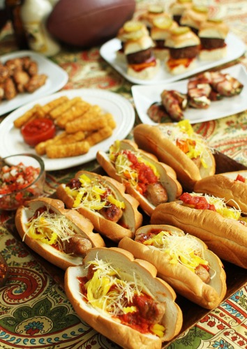 Game-Day Party Foods