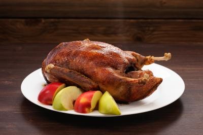 Rotisserie Duck, Crispy Duck recipe, Cooking with Ronco, Ronco recipe, Paja Sanchez