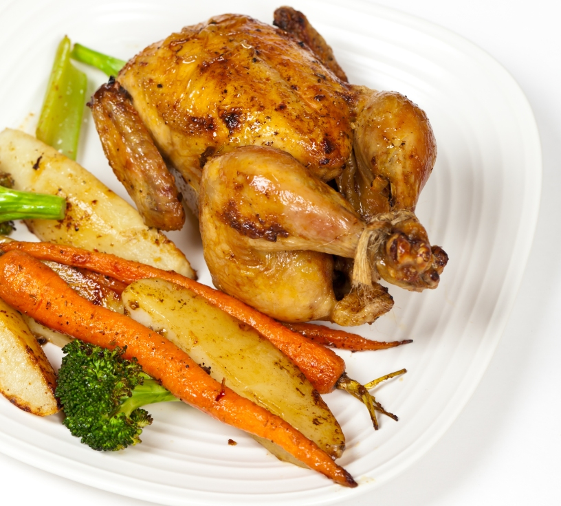Cornish game hen recipe, holiday meal, best rotisserie