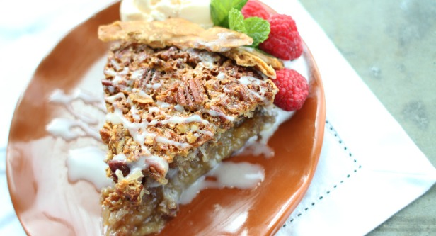 Coconut Pecan Pie