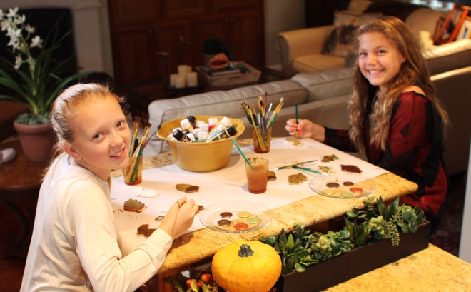 Thanksgiving Craft, Thanksgiving table decor
