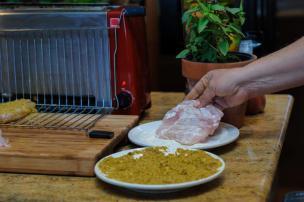 Pistachio Crusted Grouper