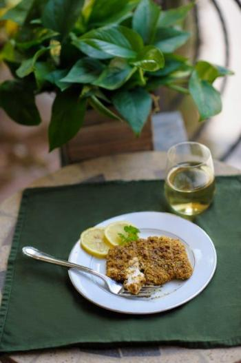 Pistachio Crusted Grouper