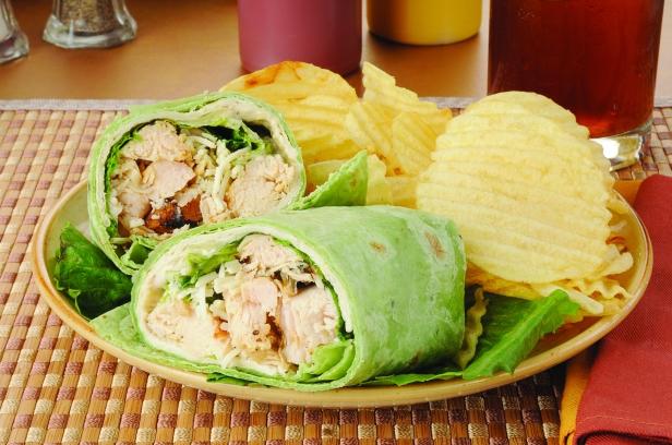 Chicken Caesar Sandwich Wrap
