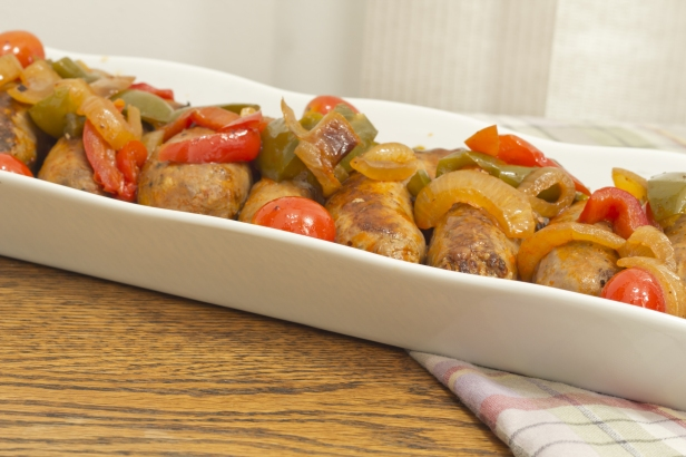 Sausage Onions Peppers