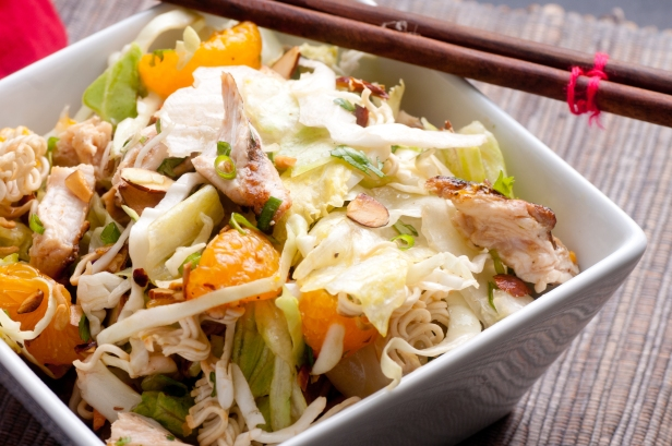 Mandarin Orange Summer Salad With Chicken