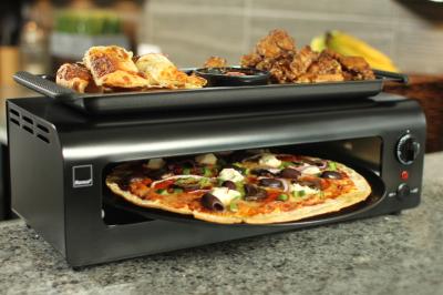 Ronco Pizza & More, Ronco Recipes, Cooking with Ronco, Paja-Dejur Sanchez