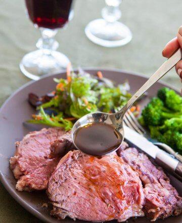 1-Step, Fail Proof Prime Rib Roast Recipe on Rotisserie, Jaden Hair, Steamy Kitchen, Ronco Rotisserie