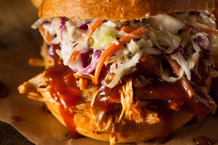 Ronco Rotisserie top 10 chicken recipes, BBQ Sandwiches, best BBQ Chicken