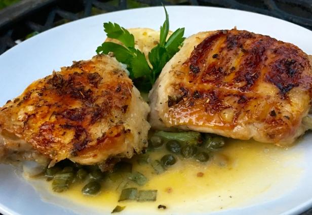Chicken piccata, Ronco Rotisserie Recipes, Top 10 Chicken Recipes