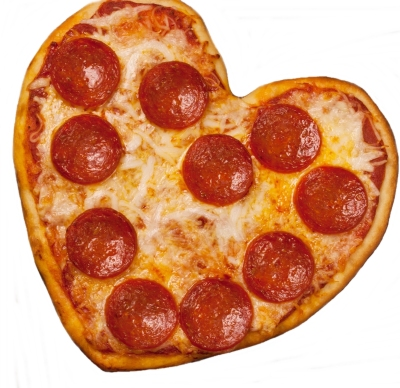 Ronco Pizza & More, Heart shped pizza, love pizza, homemade pizza, best pizza oven